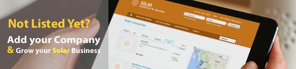 Add Solar Company Listing | Solar Business Directory | Canada